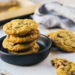 Try and resist these brown butter pumpkin chocolate chip cookies