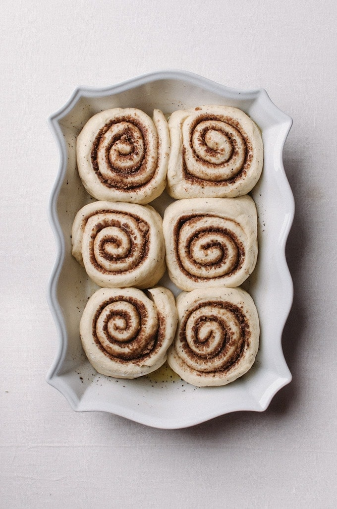 Coffee cinnamon rolls