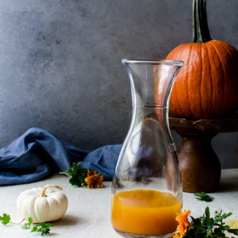 pumpkin shrubs are the perfect autumn drink