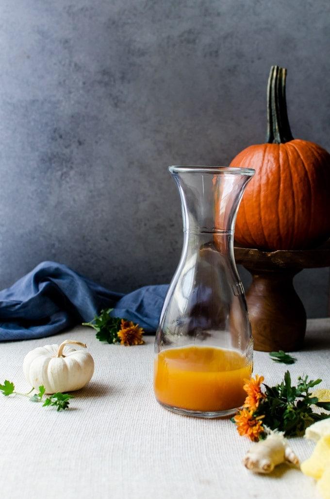 pumpkin shrubs are the perfect autumn drink