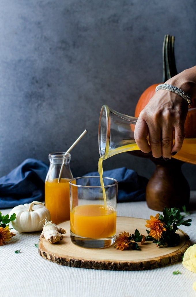 You will never have anything like pumpkin shrubs. Perfect as a cocktail with a splash of bourbon
