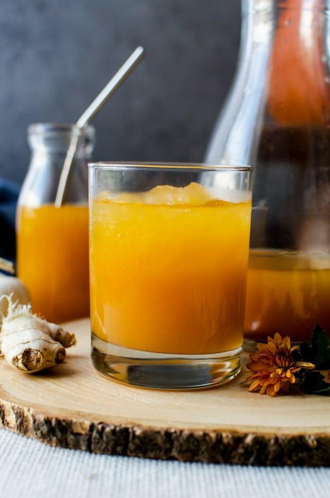 Enjoy pumpkin shrubs - its like fall in a glass