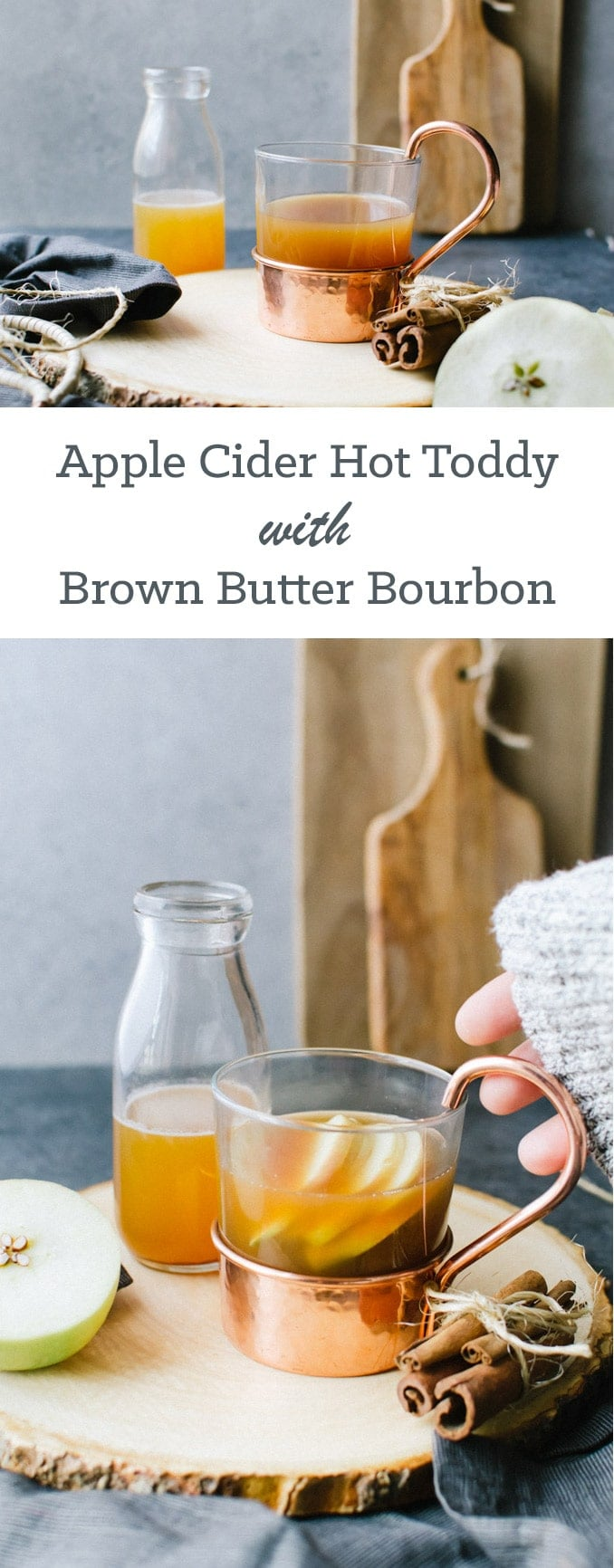 apple cider with brown butter bourbon recipe