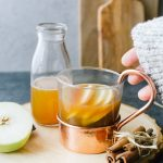 Apple Cider Hot Toddy with Brown Butter Bourbon