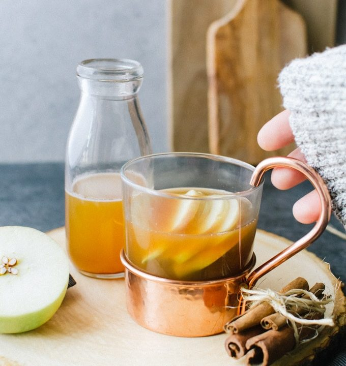 apple cider hot toddy recipe brown butter bourbon