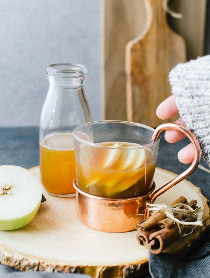 apple cider hot toddy recipe brown butter bourbon
