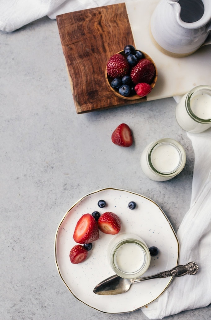 There is nothing quite like this buttermilk panna cotta to finish a great meal