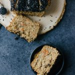 Carrot Bread with Black Sesame Seeds