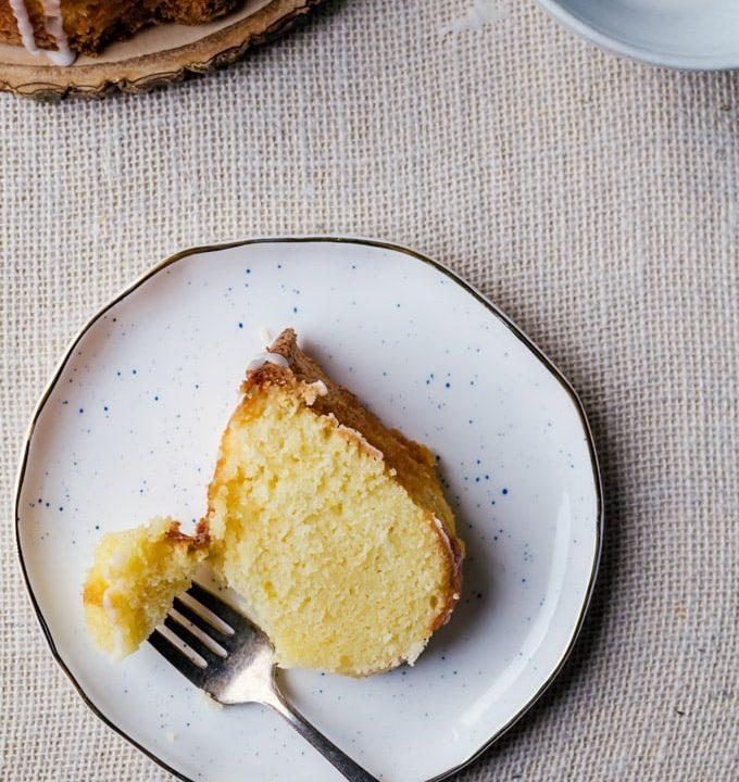 Bright and fun lemon pound cake everyone will love