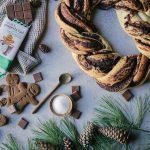 easy chocolate gingerbread babka
