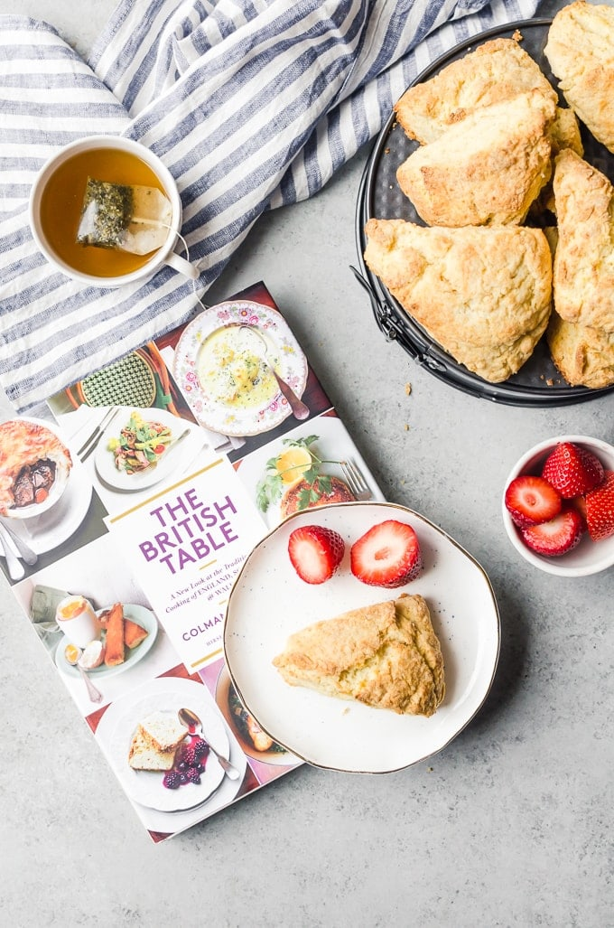 Perfect english scones from the british table cookbook