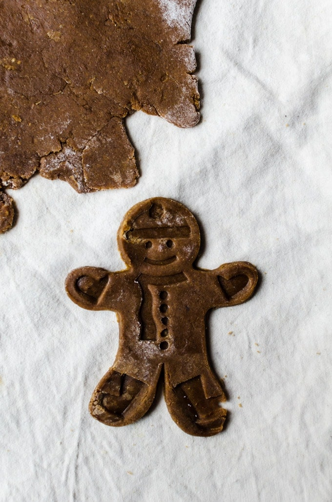 Perfect no spread spiced gingerbread man cookies