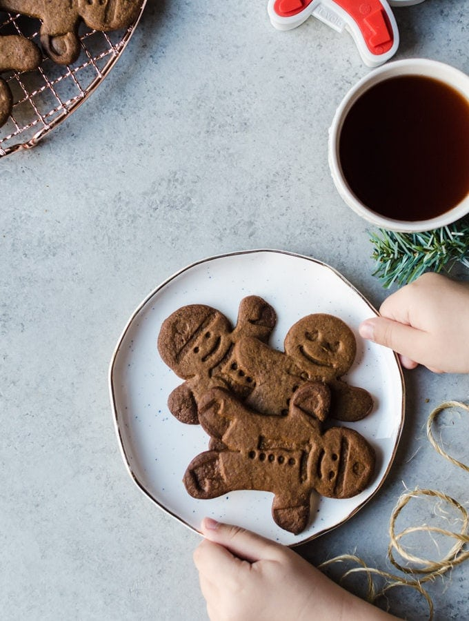 Spiced Gingerbread Man Cookies (and a GIVEAWAY)