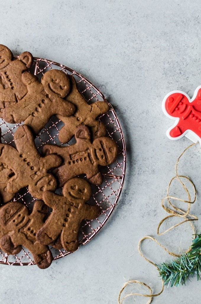 No one will be able to resist these perfectly spiced gingerbread man cookies