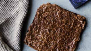 Tahini Frosting Brownies