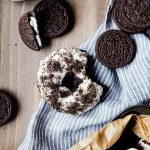 Melt in your mouth chocolatey baked Oreo doughnuts packed with Oreos in every bite.
