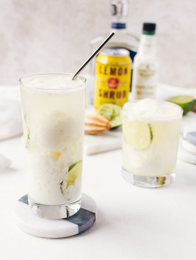 Coconut Lemon Float