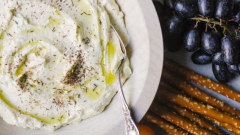 Whipped Feta Dip with Za'atar