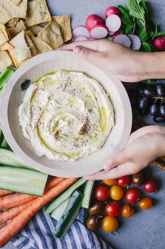 No one will be able to resist this whipped feta dip with za'atar