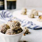 Beer Truffles with Crushed Pretzels