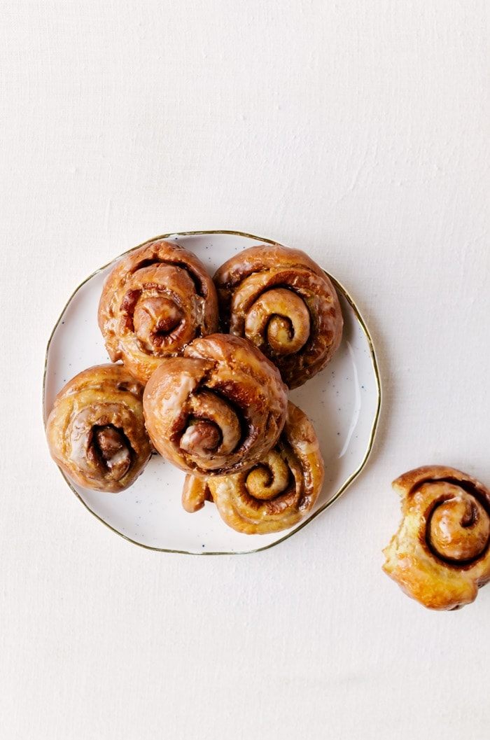 Go ahead and make a double batch of these honey buns, you'll need them!