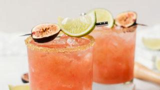 Fresh Fig Margaritas