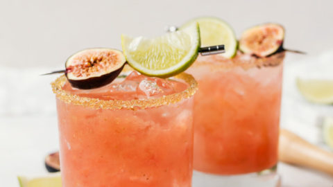 Fresh Fig Margaritas