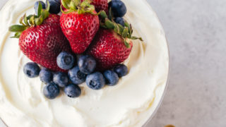 Berry Malt Trifle