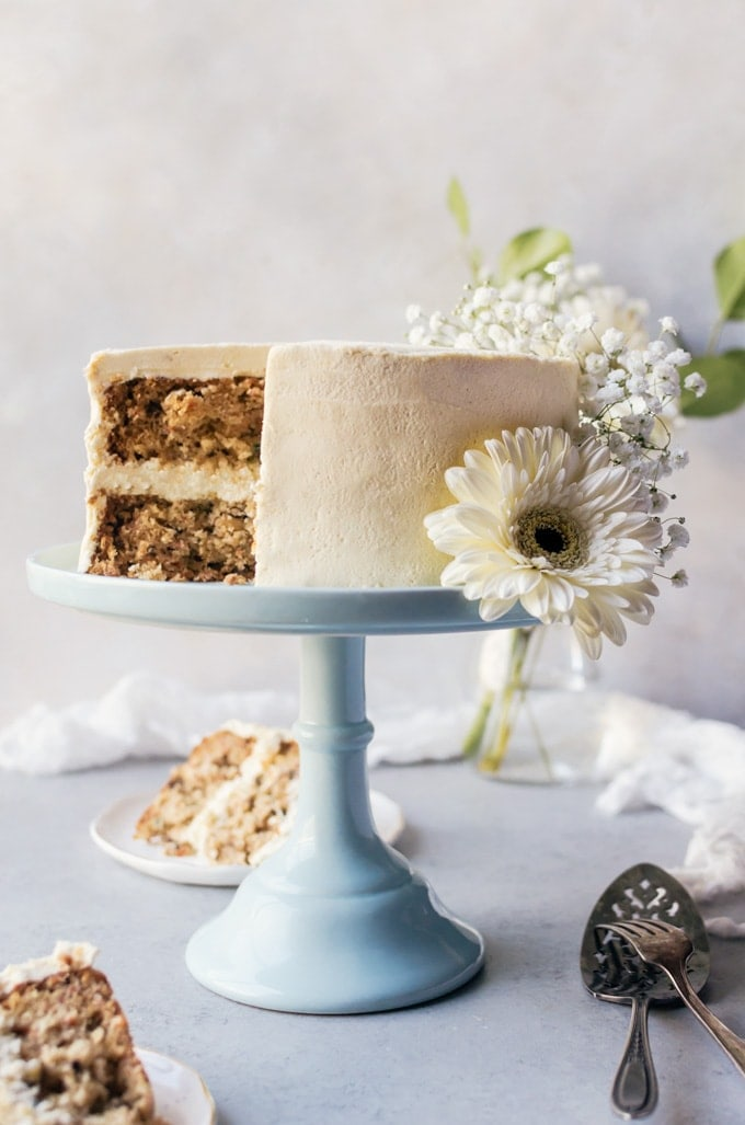 a sweet and irresistible cereal milk carrot cake