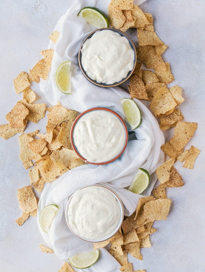 A light and creamy margarita dip that everyone will go nuts for during Cinco de Mayo