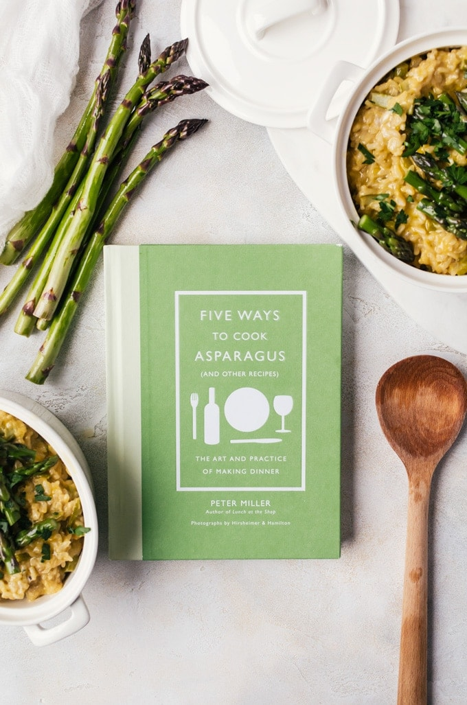 A review of the cookbook Five Ways to Cook Asparagus