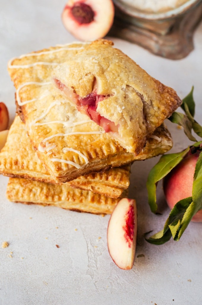 There isn't anything better than flaky sweet peach hand pies to make your summer better
