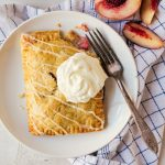 Peach Hand Pies with Maple Glaze