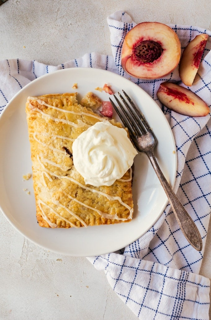 Peach hand pies are everything you love about summer. These sweet and fruity pies will be a new favorite