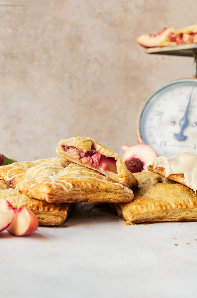 It isn't summer until you've had some pie and these peach hand pies are the pinnacle of everything good about summer.