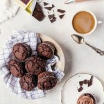 Irresistibly chocolaty brownie muffins that no one will be able to resist