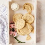 Cozy up with these brown butter chai sugar cookies