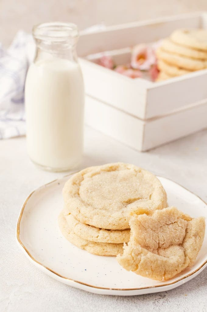 There isn't anyway you will be able to stop at just one brown butter chai sugar cookie