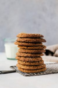 There is no way anyone will turn down these soft, chewy molasses cookies