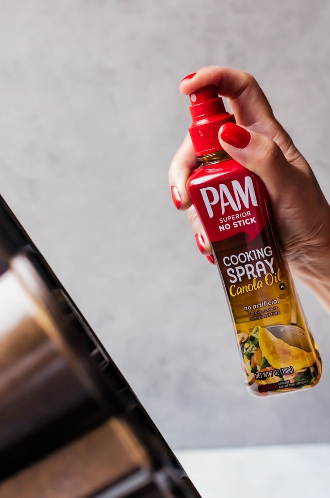 You PAM do it with PAM cooking spray