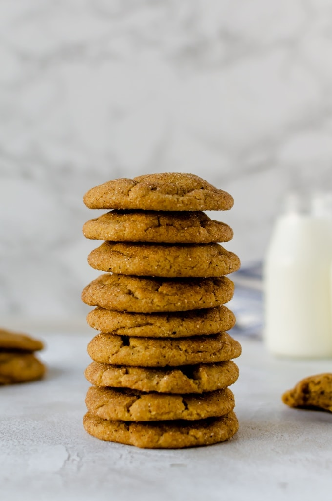 The ultimate fall cookies. There is nothing quite like these brown butter pumpkin snickerdoodles
