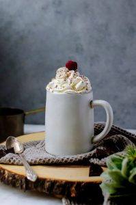 This cherry hot chocolate, aka black forest hot chocolate, is a completely amazing new take on your favorite winter drink.