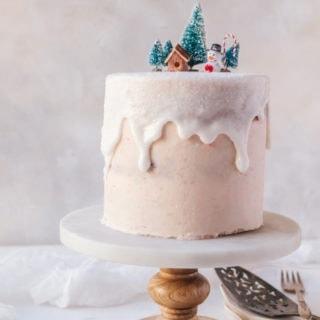 A deliciously wonderful plum spice cake