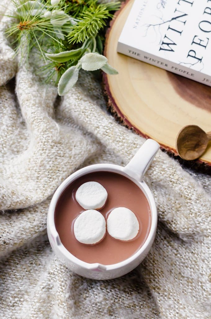 Spicy hot chocolate that will certainly keep you warm and toasty this winter