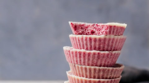 White Chocolate Raspberry Cups