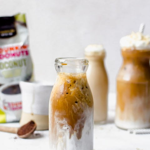 There is nothing like relaxing with a coconut mocha macchiato in the morning!