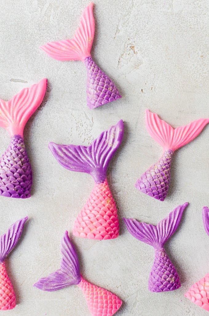 mermaid cupcakes tails