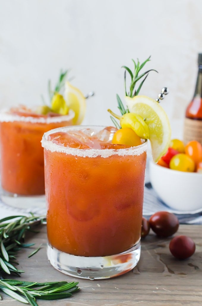 bloody margarita cocktail