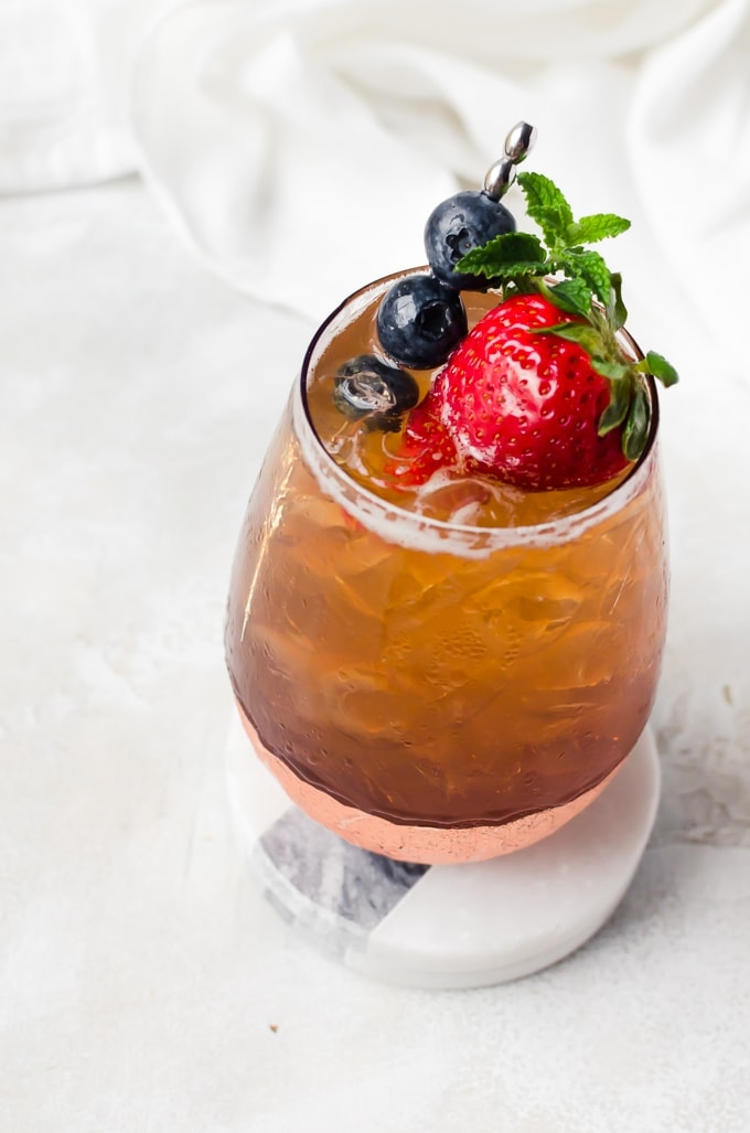 fresh strawberry cocktail recipe