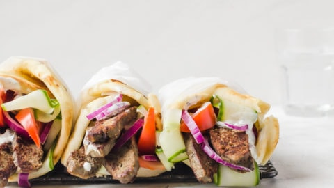 Greek Lamb Gyros